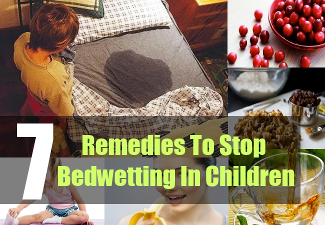 7 Remedies To Stop Bedwetting In Children