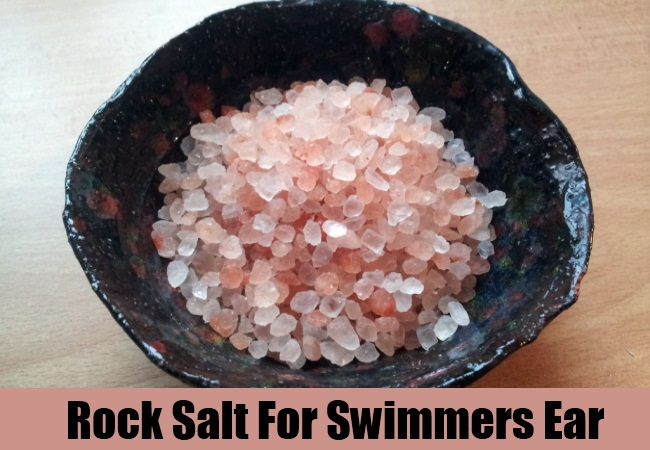 Rock Salt For Swimmers Ear