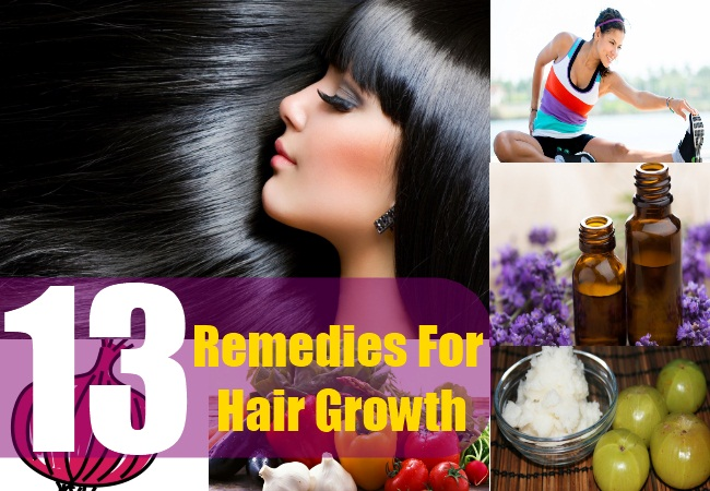 13 Remedies For Hair Growth