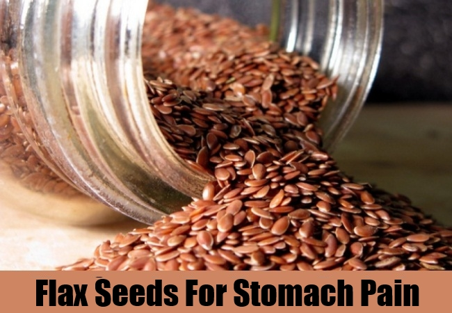 Flax Seeds For Stomach Pain