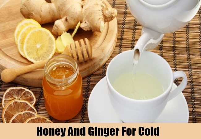 Honey And Ginger For Cold