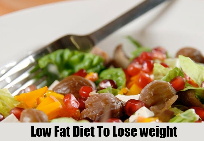 Low Fat Diet To Lose weight