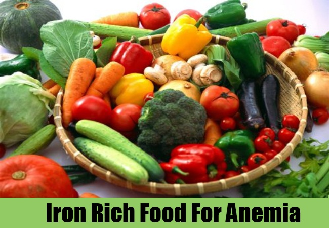 Iron Rich Food For Anemia