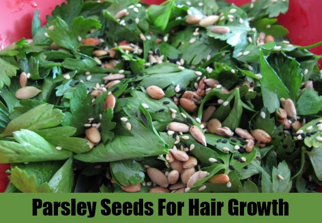 Parsley Seeds For Hair Growth