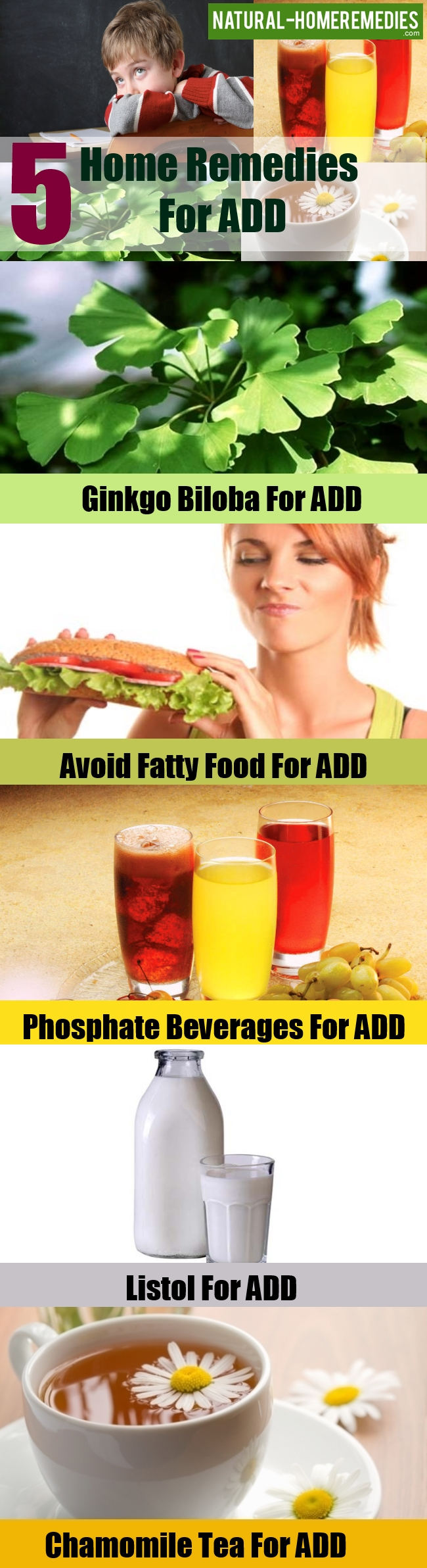 Home Remedies For ADD
