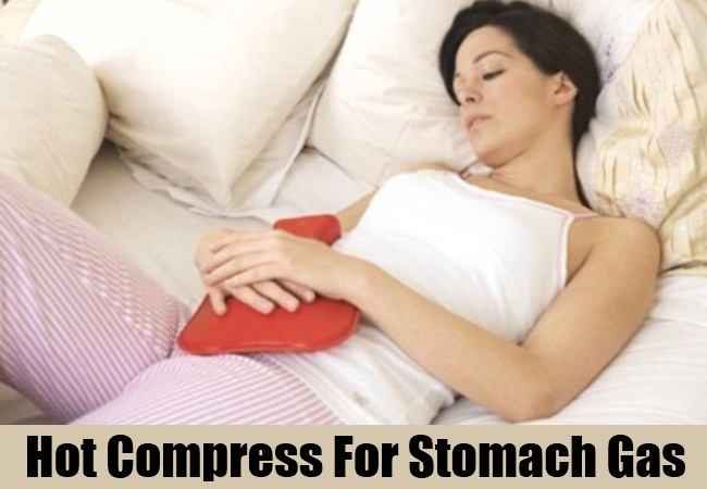 Hot Compress For Stomach Gas