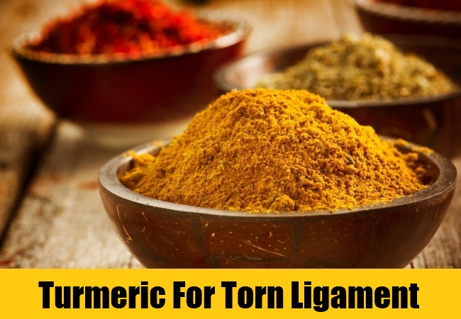 Turmeric For Torn Ligament