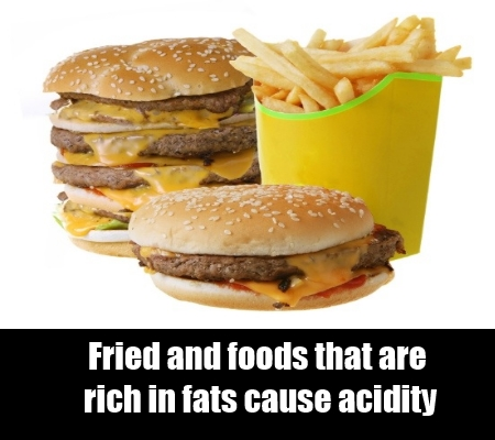 Fried and fast food