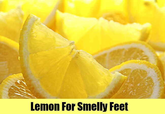 Lemon For Smelly Feet