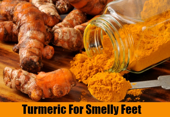Turmeric For Smelly Feet