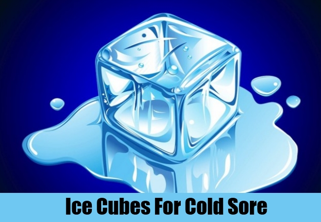Ice Cubes For Cold Sore