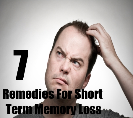 7 Remedies For Short Term Memory Loss