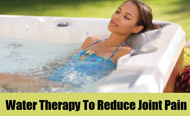 Water Therapy To Reduce Joint Pain