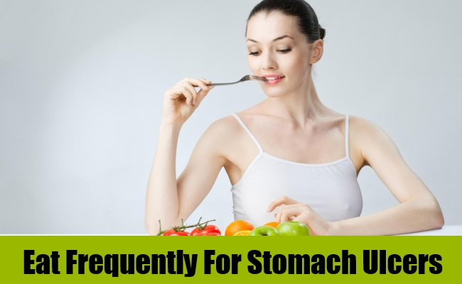 Eat Frequently For Stomach Ulcers