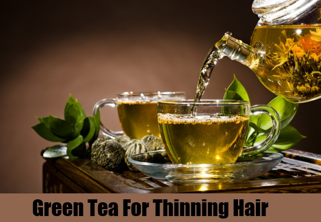 Green Tea For Thinning Hair