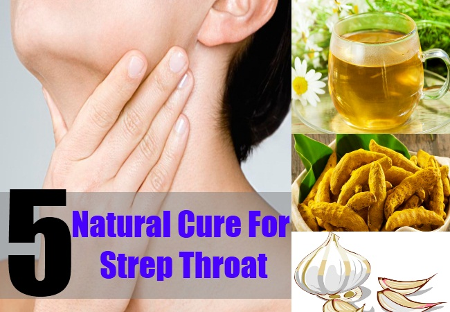 5 Natural Cure For Strep Throat