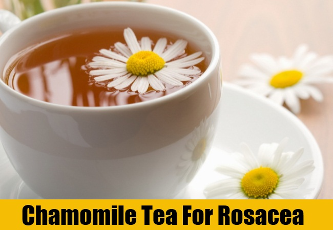 Chamomile Tea For Rosacea