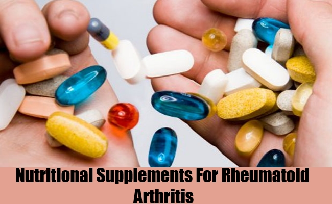 Nutritional Supplements For Rheumatoid Arthritis