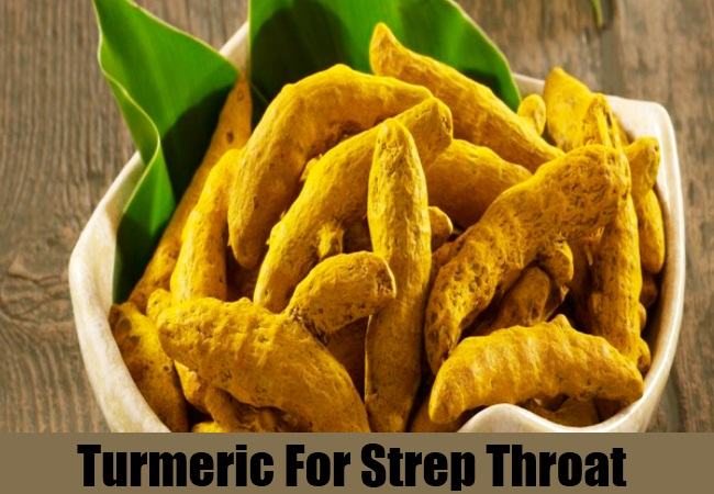 Turmeric For Strep Throat
