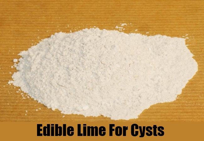 Edible Lime For Cysts