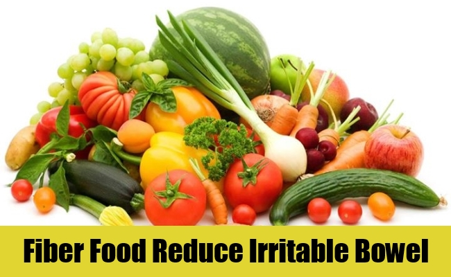 Fiber Food Reduce Irritable Bowel