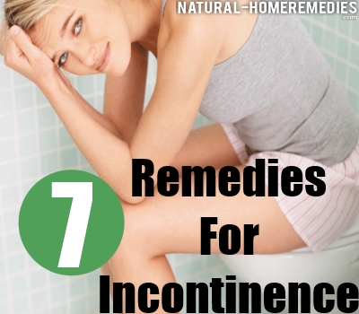 Best Home Remedies For Incontinence