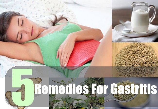 5 Remedies For Gastritis
