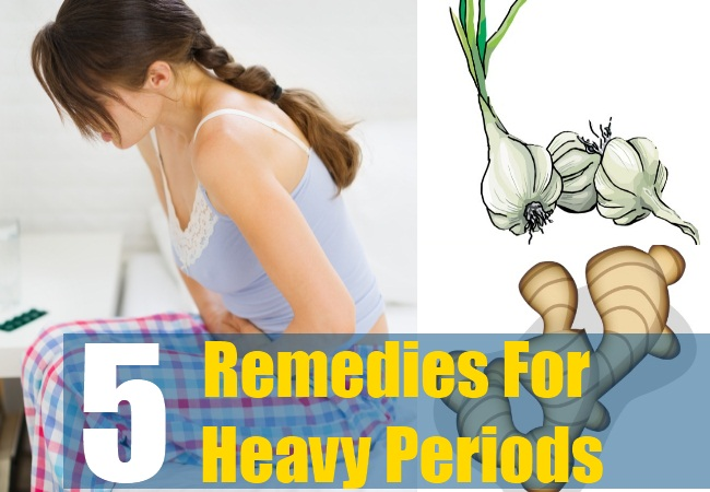 5 Remedies For Heavy Periods