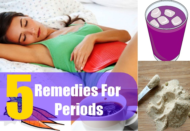 5 Remedies For Periods