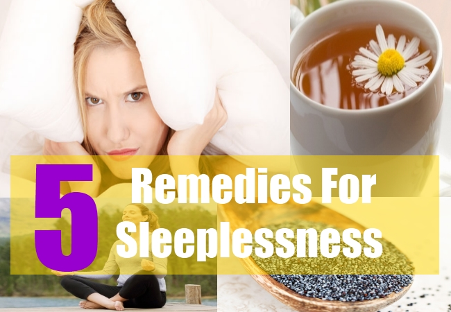 5 Remedies For Sleeplessness