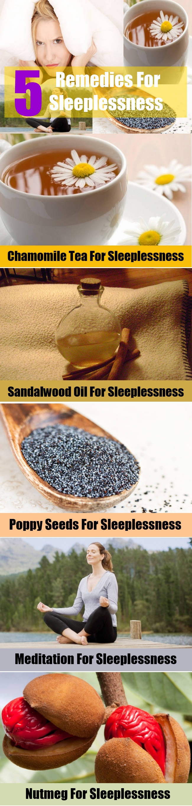 Remedies For Sleeplessness