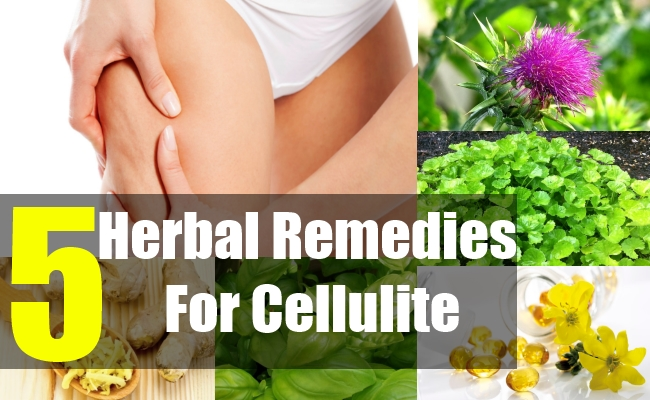 5 Herbal Remedies For Cellulite