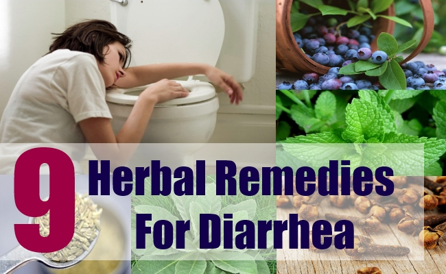 9 Herbal Remedies For Diarrhea