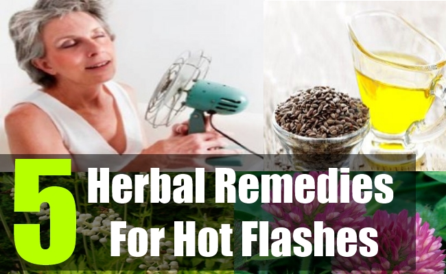 5 Herbal Remedies For Hot Flashes