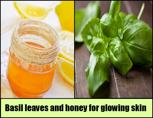 Basil and honey