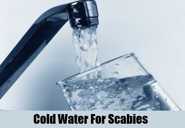 Cold Water For Scabies