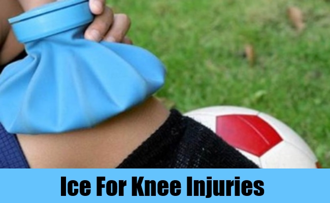 Ice For Knee Injuries