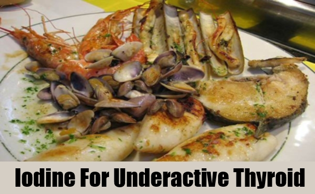 Iodine For Underactive Thyroid