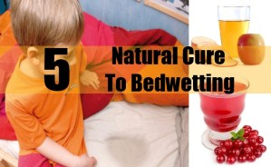 Natural Cure To Bedwetting