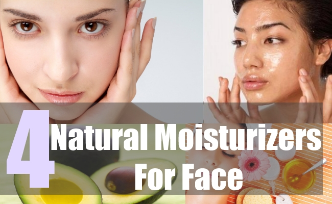 4 Natural Moisturizers For Face