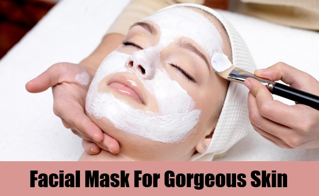 Facial Mask For Gorgeous Skin