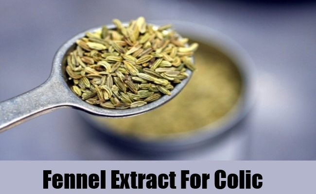 Fennel Extract For Colic