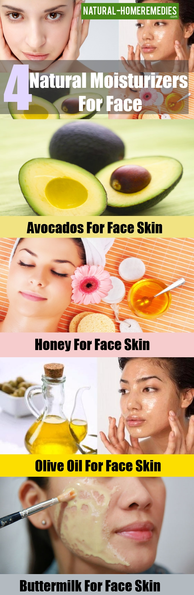 Natural Moisturizers For Face