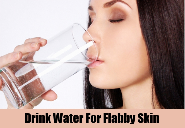 Drink Water For Flabby Skin