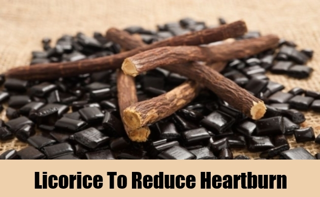 Licorice To Reduce Heartburn