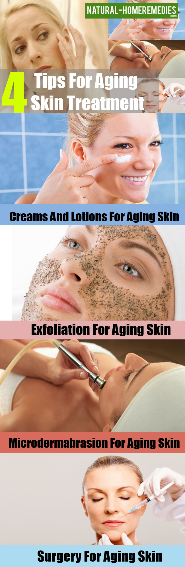 Tips For Aging Skin Treatment