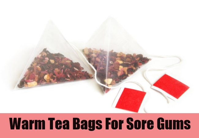 Warm Tea Bags For Sore Gums