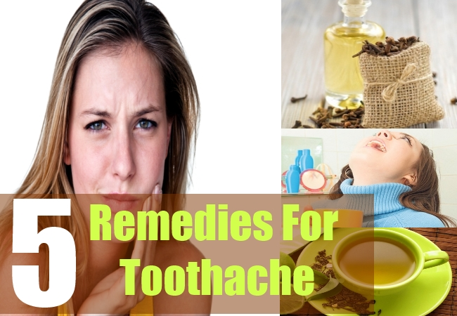 5 Remedies For Toothache