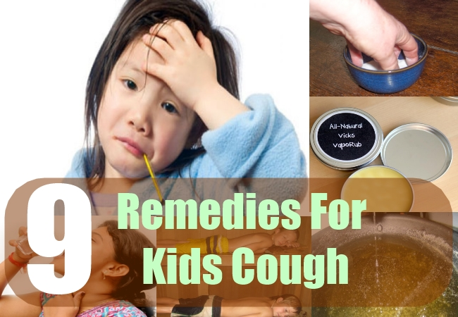 9 Remedies For Kids Cough