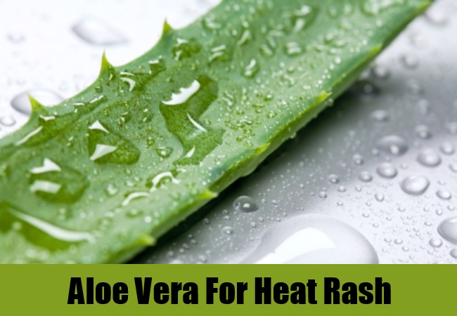 Aloe Vera For Heat Rash